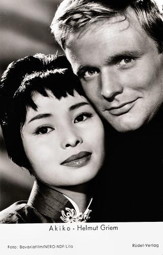 Helmut Griem and Akiko Wakabayashi in Bis zum Ende aller Tage (1961)