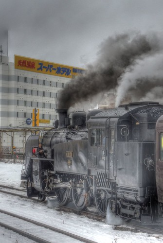 'C11 171' at Kushiro Station on FEB 14, 2016 (5)