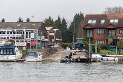 Sheperton to Weybridge ferry