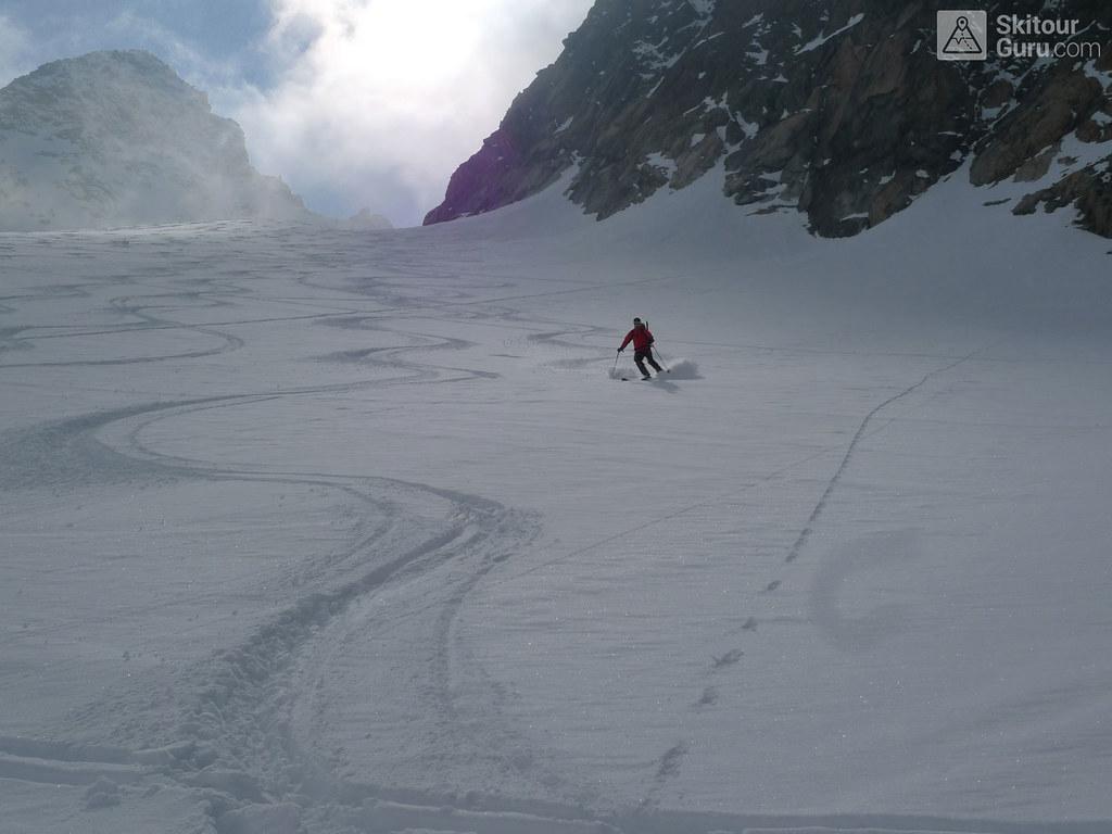 Ruderhofspitze NW (Franz Senn Hütte) Stubaiské Alpy Rakousko foto 14