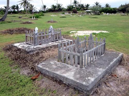 home cemetery island islands cocos keeling pulu gangsa
