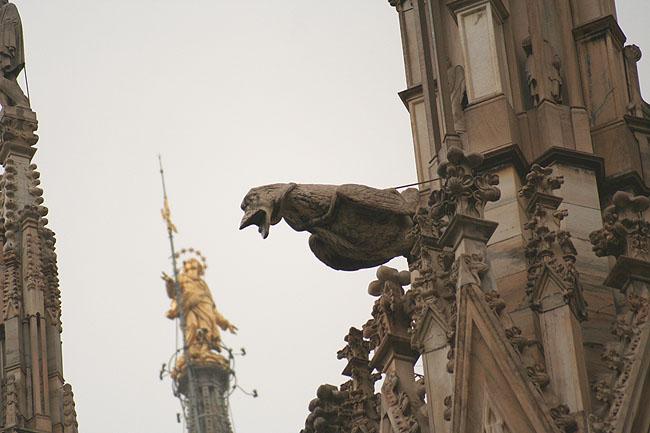 Gárgola del Duomo. © Paco Bellido, 2006