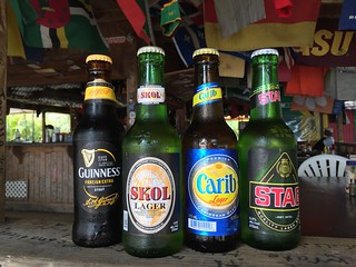 Local St Kitts beer