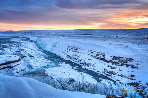 winter panorama snow ice clouds sunrise dawn landscapes is waterfall iceland rocks skies scenic canyon waterfalls rivers streams skyscapes gullfoss canyons hdr naturephotography goldencircle waterscapes landscapephotography hvítáriver suðerland canyonscapes pentaxk3 fingolfinphoto philipesterle