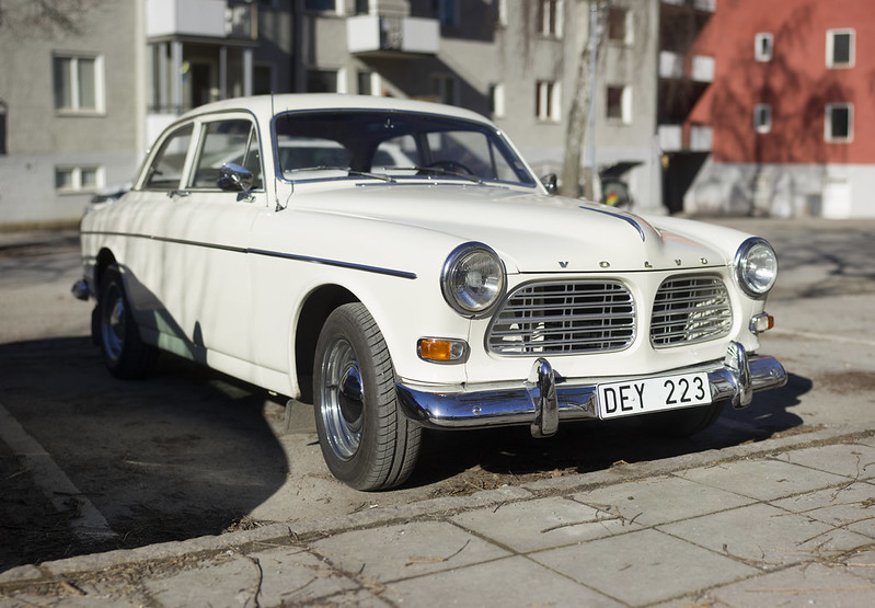 Cream Colored Volvo Amazon
