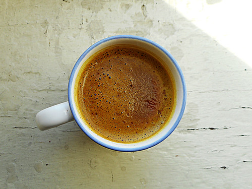 hot chocolate with turmeric and black pepper