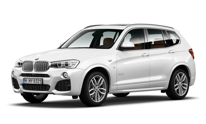 【新聞照片一】全新BMW X3 28i M Sport Edition 強悍登場