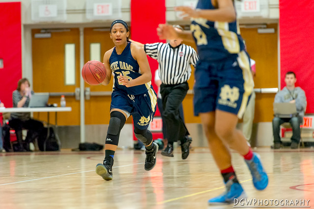 Notre Dame of Fairfield vs. Enfield High - CIAC Class M Girls Basketball State Semi-Finals