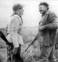Martha Gellhorn ed Hemingway nel 1940