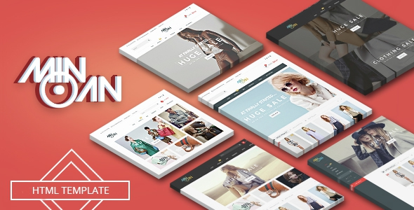 Minoan – Fashion eCommerce Bootstrap Template