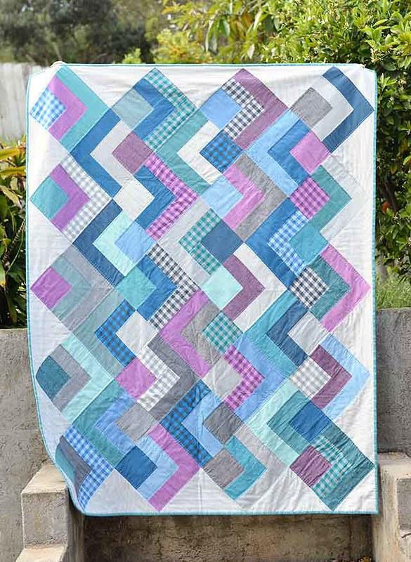 dapper squares quilt