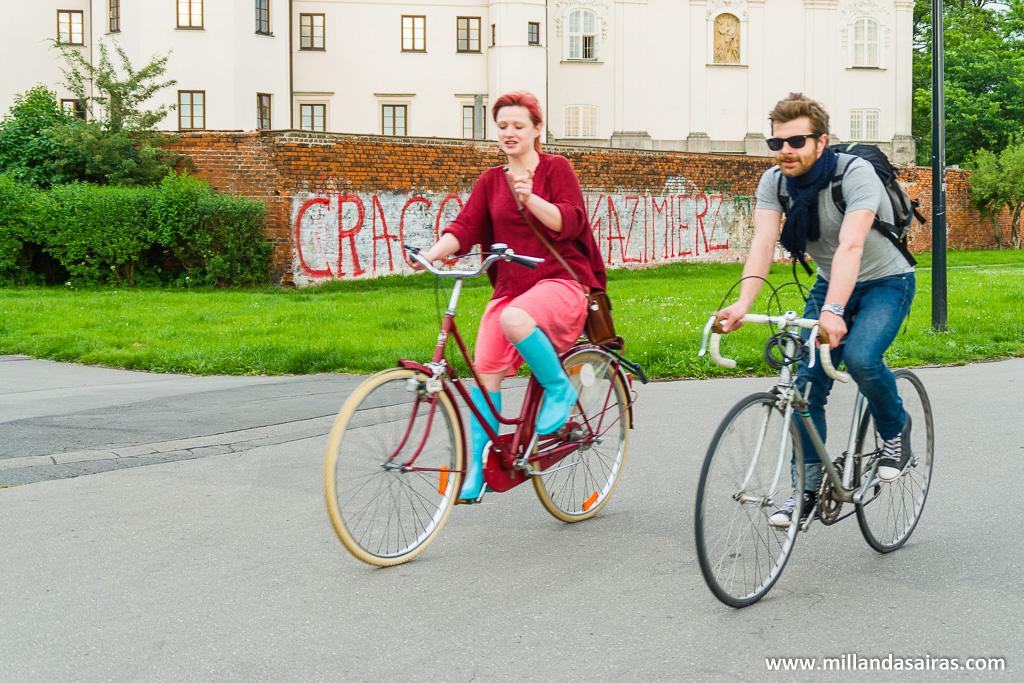 Otra opción siempre recurrente es la bici
