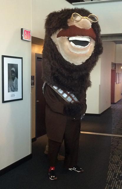 Teddy-as-Chewbacca