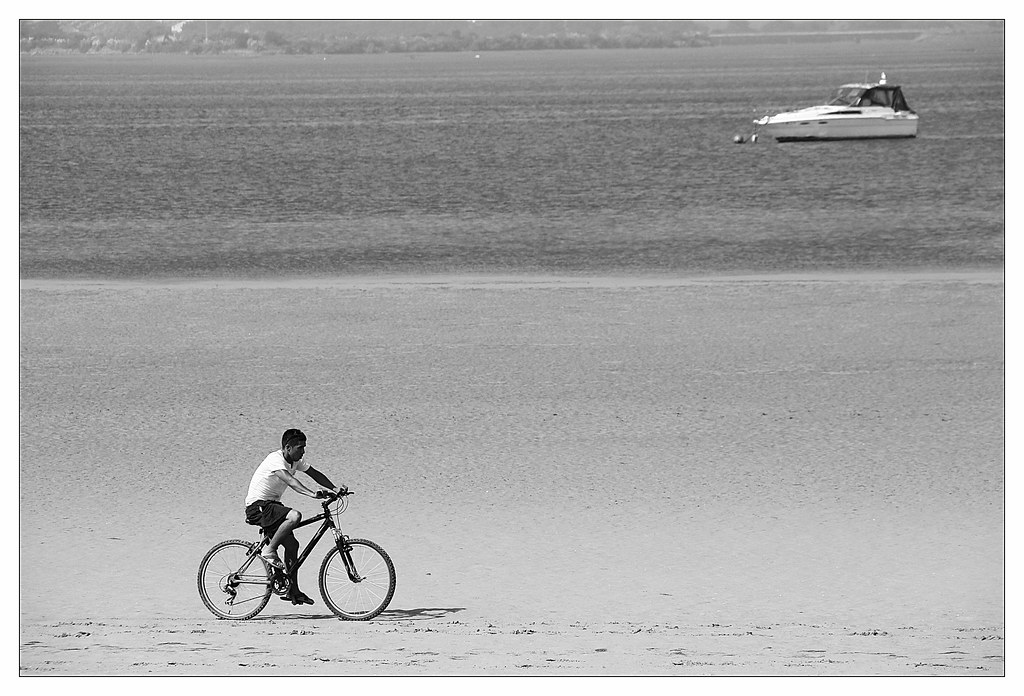 en bicicleta por los arenales