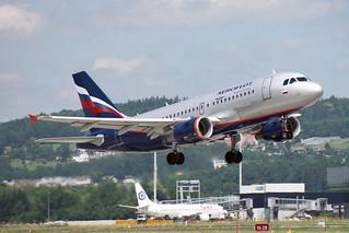 Aeroflot - Russian Airlines Airbus A319-111 VP-BDM