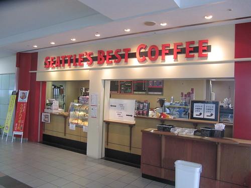 阪神競馬場のシアトルズベストコーヒー