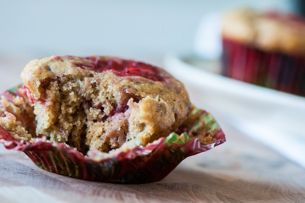 Strawberry Banana Muffins 4
