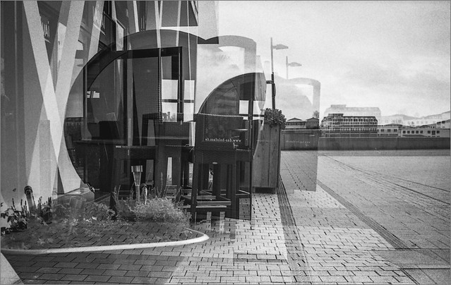double exposure | YASHICA ELECTRO 35GX