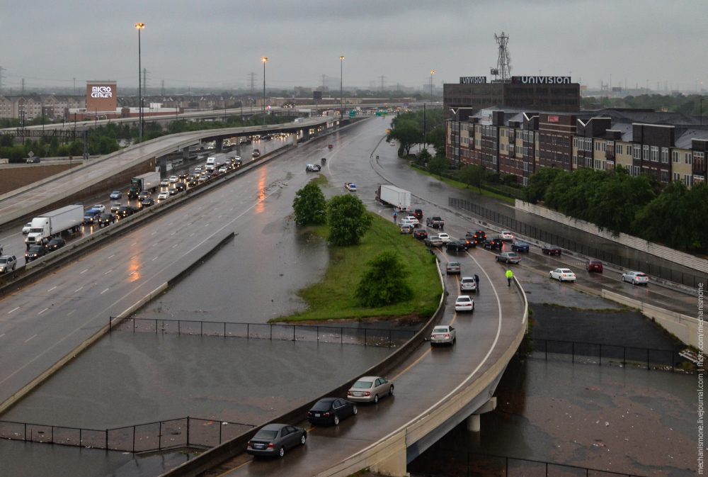 Historic flood in Houston