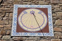 Rellotge de sol a l'Església de Santa Maria de Rocafort