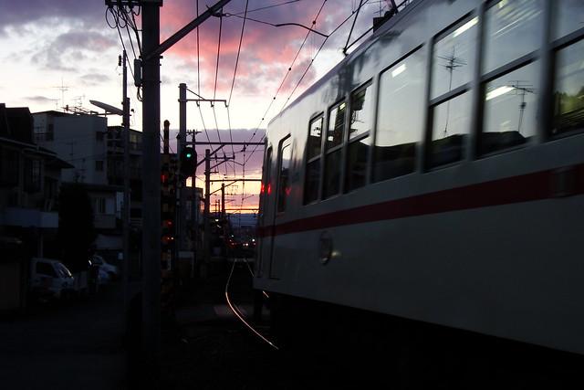 2015/12 叡山電車元田中駅近く #02