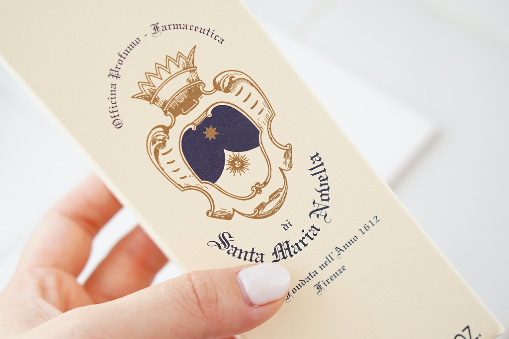 Santa Maria Novella(サンタ・マリア・ノヴェッラ)薬局のローズウォーターAcqua di Rose パッケージ