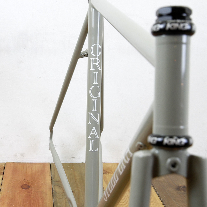 Steel Era Frame Set & Nitto Stem Painted By Swamp Things
