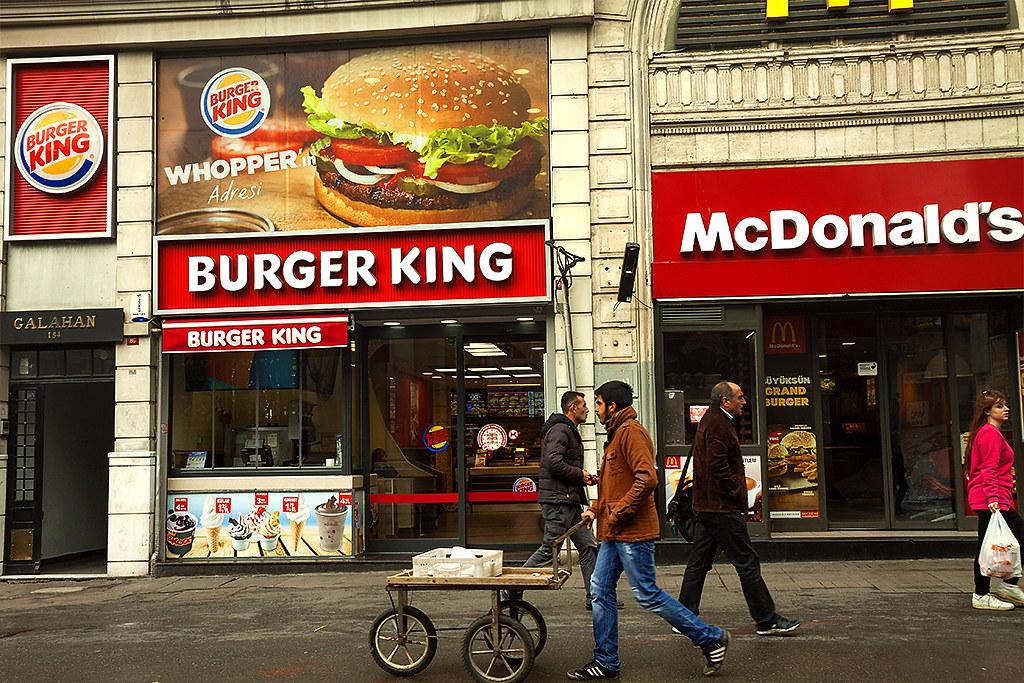BURGER KING McDONALD'S--Istanbul