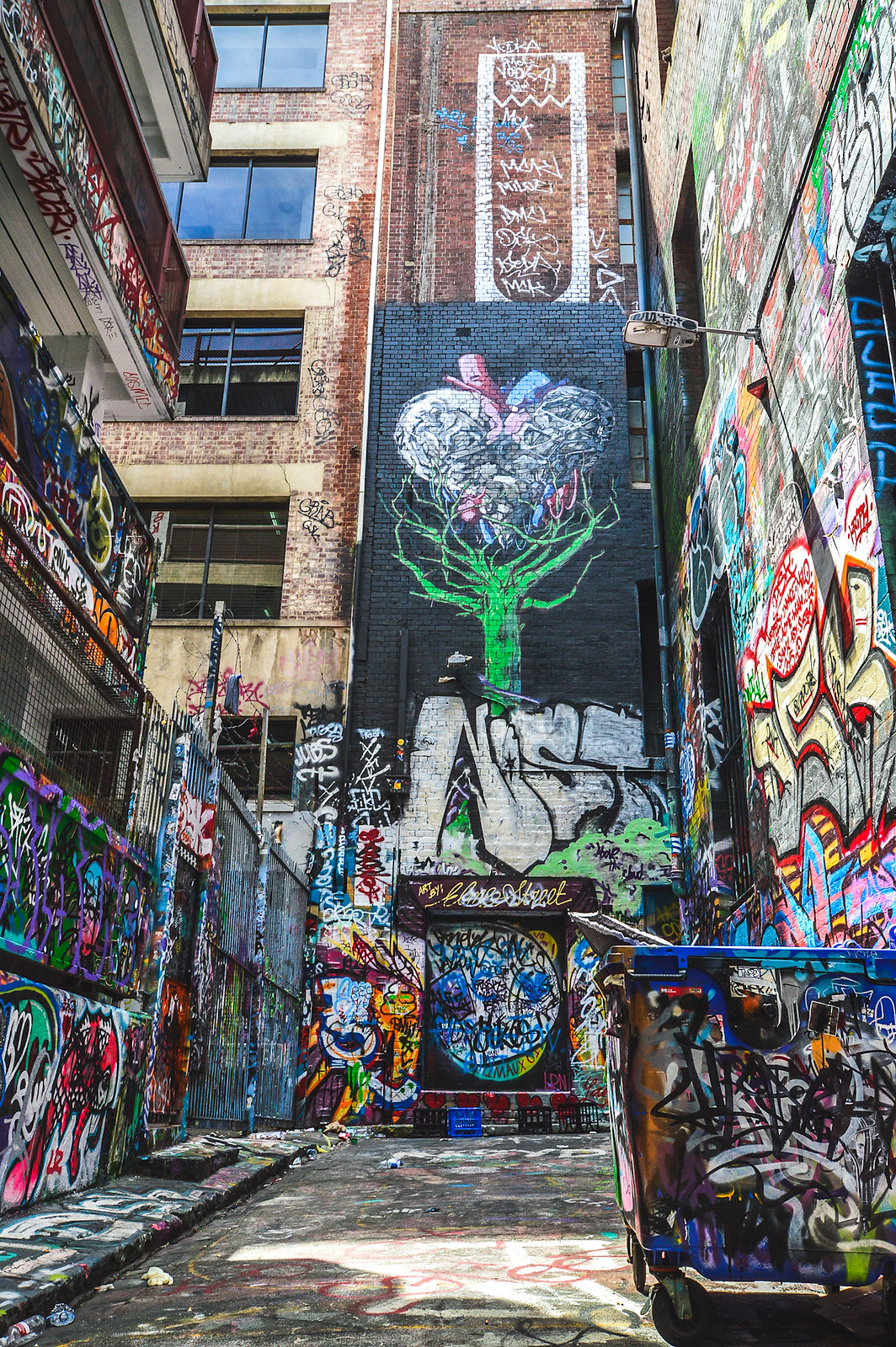 Melbourne Hossier Lane Street Art 2015