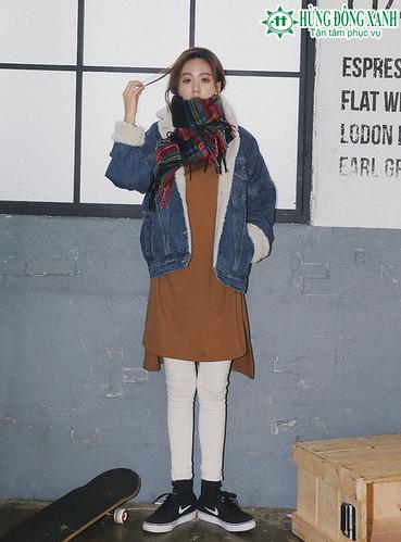 Thời trang du học những ngày lạnh giá