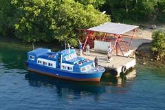 Passenger Ship in Jagua Cienfuegos Cuba