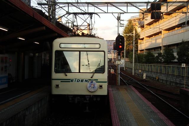 2016/01 叡山電車×ご注文はうさぎですか?? ヘッドマーク車両 #28