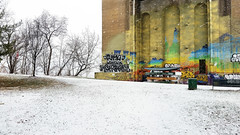 Under the 40th Street Bridge, Lawrenceville, January 20, 2016