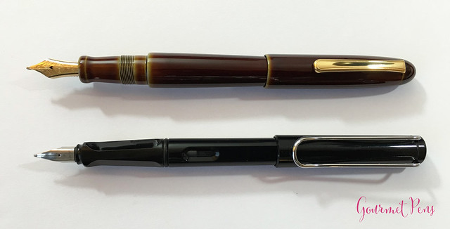 Review Nakaya Cigar Writer Heki-Tamenuri Fountain Pen (14)