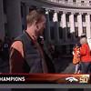 Peyton has arrived. #broncosparade #Broncos #superbowl