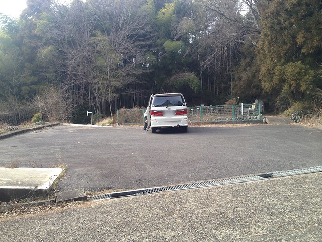 眉山 駐車場