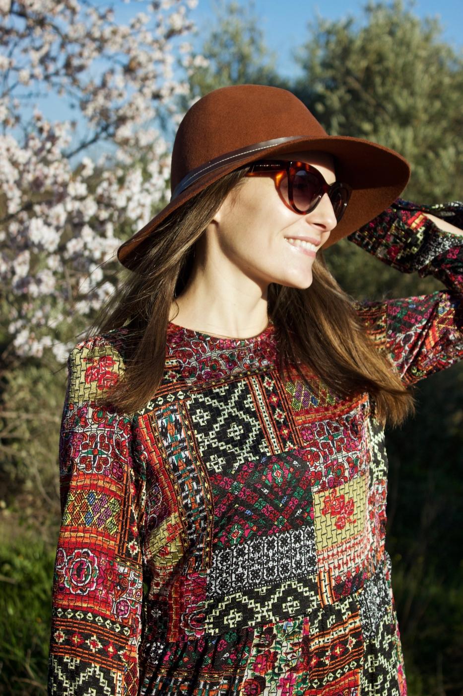 lara-vazquez-madlula-style-streetstyle-look-moda-hat-dress-winter-ootd
