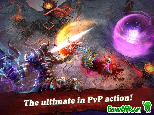 Clash for Dawn v1.4.3 hack Damage cho Android