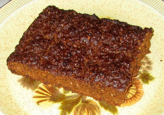 ginger cake  - parkin