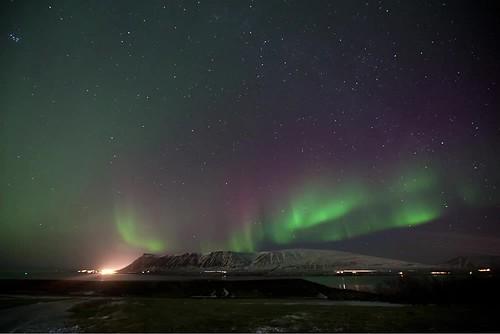Aurora timelapse in Iceland