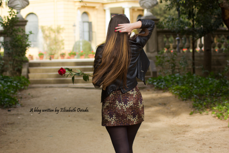 floral skirt ZARA botines Zalando new look outfit post HEELSANDROSES (1)