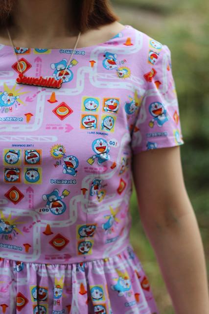 Doraemon Emery Dress