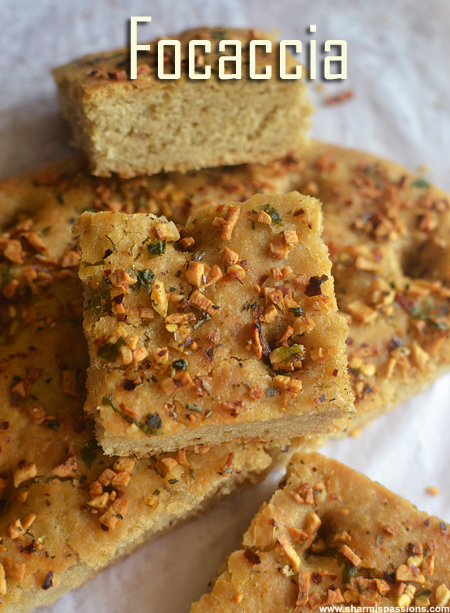 Whole Wheat Garlic Focaccia Recipe