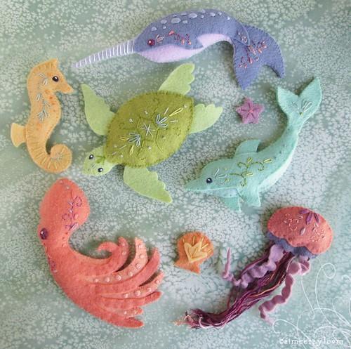sea creatures!