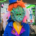 Fasnacht Masks and Costumes Exhibition at Emmen Center, Lucerne, Central Switzerland