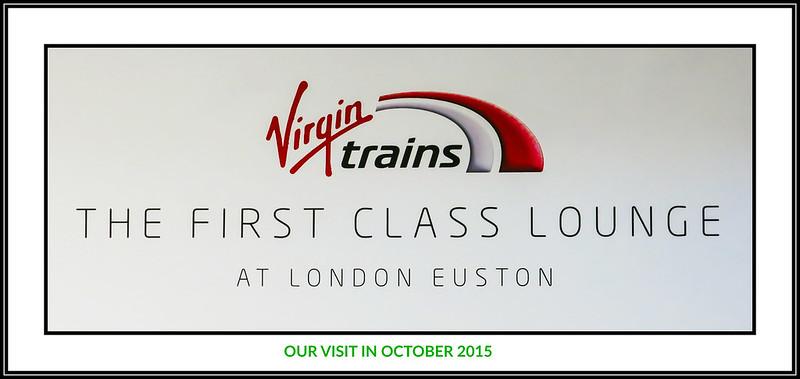 Virgin 1st class train service between London Euston