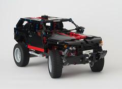 LEGO 8081 Extreme Cruiser MOD