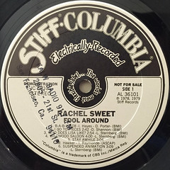 RACHEL SWEET:FOOL AROUND(LABEL SIDE-A)
