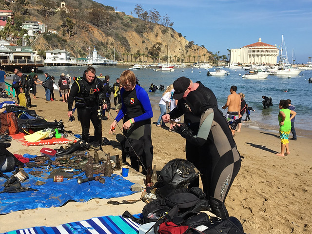 35th Annual Avalon Harbor Underwater Cleanup