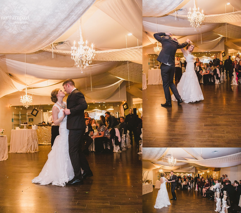 The First Dance - Hart Community Centre Wedding